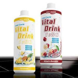 10,00€ /Ltr. Best Body Low Carb Vital Drink 2 x 1 Ltr. Mineraldrink  ANGEBOT !!