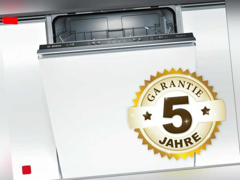 Bosch SMV25AX00E Vollintegrierbarer Einbaugeschirrspüler; EEK A++