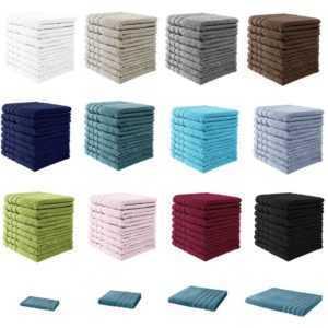 Handtuch Duschtuch Badetuch Gästetuch Strandtuch Frottee 100% Baumwolle 500g/m²