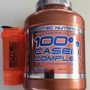 (18,03€/kg)Scitec Nutrition 100% Casein Complex 2350g Protein+Traveller Shaker