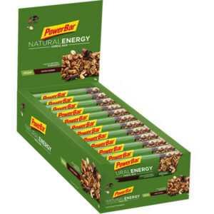 24,4€/kg Powerbar Natural Energy Cereal Kohlenhydrate Energie Riegel 24x 40g Box