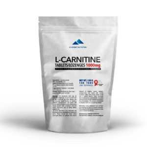 L-Carnitin Carnitin Tabletten / Lutschtabletten 1000 mg Verbrennt Fett