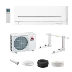 Mitsubishi Klimaanlage Klimagerät MSZ-AP25VG 2,5 kW 14000 BTU R32 + Montage Set