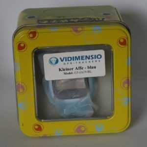 """Vidimensio GPS Telefon Uhr Smartwatch """"Kleiner Affe"""" Blau B-WARE!!!"""