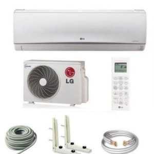 LG Standard 2,5kW 9000BTU 25m2 Klimaanlage Inverter Wärmepumpe Klimagerät SET; EEK A++