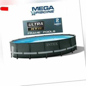Intex 26326 Ultra Frame Rund Aufstellpool 488x122cm zirkular new model XTR