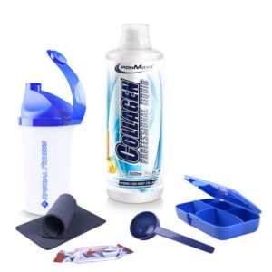 Ironmaxx Collagen Professional Liquid (1000ml Flasche Kollagen) + BONUS
