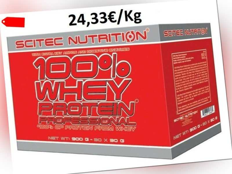 Scitec Nutrition 100% Whey Protein Professional 30x30g Box Eiweiß