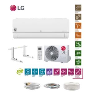 LG Standard Plus PC09SQ R32 2,5 kW Klimaanlage + Quick Connect 6 Meter; EEK A++