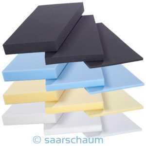 Schaumstoff Zuschnitt Polster Schaumstoffplatte Schaum Matratze Auflage Topper