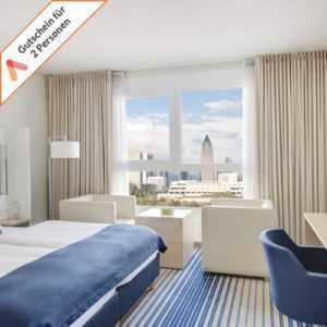 Kurzreise Frankfurt zentral 3 Tage 4 Sterne Welcome Hotel für 2 Personen Animod