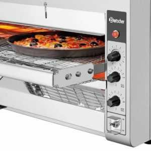Durchlaufofen Backofen Durchlauftoaster Pizzaofen mit Transportband; EEK A
