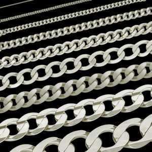 Panzerkette Königskette Collier Echt 925 Sterling Silber Kette Collier Halskette