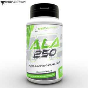 ALA 250 60-240 Kapseln Alpha Liponsäure Antioxidantien Anti Aging Aminosäuren