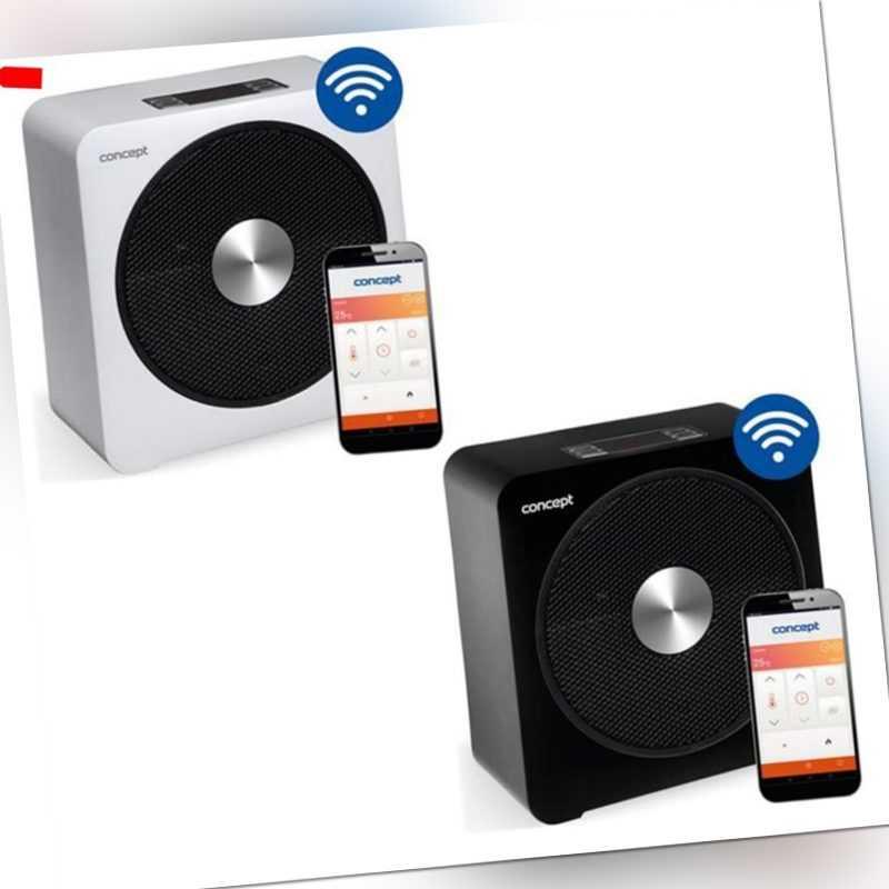 Keramik-Heizlüfter Wi-Fi-Steuerung Thermostat Timer Heizgerät Concept Smart