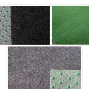 Kunstrasen Rasenteppich grau / schwarz oder grün 2 & 4 Meter Breite Winter Sale
