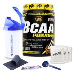 59,90€/kg AllStars BCAA Powder 500g Aminosäuren Amino 500g + BONUS