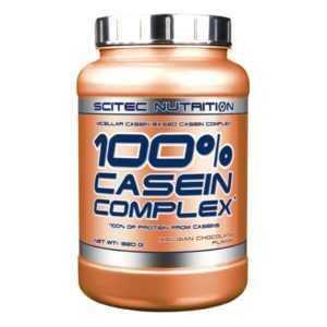 (EUR 24,51/kg) Scitec Nutrition - 100% Casein Complex, 920g - Protein, Eiweiß -