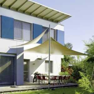 Sonnensegel Schutz Tarp Beschattung Garten wasserabweisend PES UPF 50+ CelinaSun
