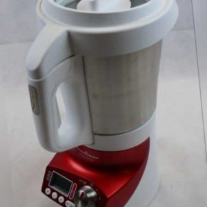 Moulinex LM906110 Soup & Co Thermo-Standmixer Weiß/rot /EPH2.08
