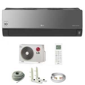 LG ARTCOOL Mirror AC18BQ 5,0kW Klimaanlage Inverter Wärmepumpe Klimagerät NEU ; EEK A++