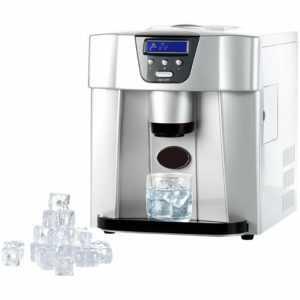 Eiswürfelbereiter: Eiswürfelmaschine EWS-2100 mit Eiswürfelspender