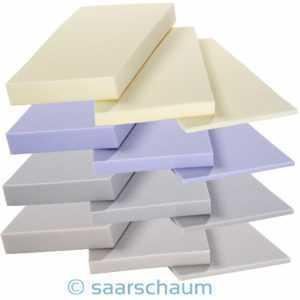 Kaltschaum Schaumstoff Polster Platte Zuschnitt Matratze Auflage Topper
