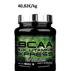 Scitec Nutrition BCAA + Glutamine Xpress - 600g Leucin Isoleucin Valin Glutamin