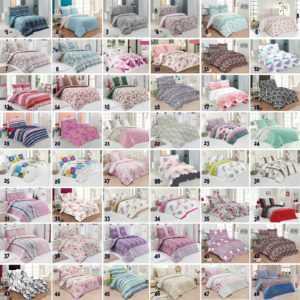 2-3.tlg Renforce Bettwäsche 100% Baumwolle Bettgarnitur Bettbezug Reißverschluss