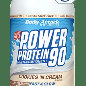 Body Attack Power Protein 90 1000g Dose Eiweiß Molkeneiweiß BCAA Aminosäuren