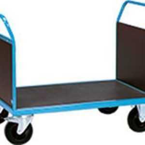 Doppel Stirnwandwagen Transportwagen  Plattformwagen Lagertechnik 850 x 500