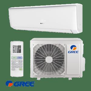 GREE Bora 2,5 kW Split Klimaanlage R32 Klimageräte-Set A++ WiFi; EEK A++