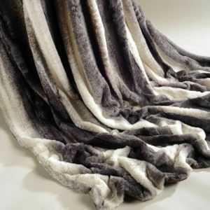 Luxus Kunstfell Decke/Überwurf,Super Weich,Warm&Dick,Sofa,Bett,getupft,flauschig