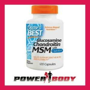 Doctor's Best - Glucosamine Chondroitin MSM with OptiMSM