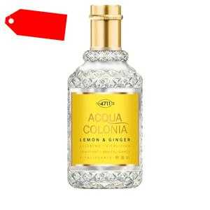 4711 - ACQUA COLONIA Lemon & Ginger eau de cologne splash & spray 50 ml ab 14.06 (25.00) Euro im Angebot