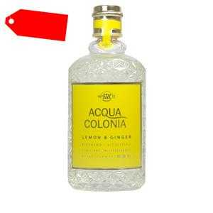 4711 - ACQUA COLONIA Lemon & Ginger eau de Cologne spray 170 ml ab 23.63 (48.00) Euro im Angebot