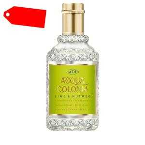 4711 - ACQUA COLONIA Lime & Nutmeg eau de cologne splash & spray 50 ml ab 14.06 (25.00) Euro im Angebot