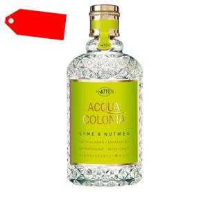4711 - ACQUA COLONIA Lime & Nutmeg eau de Cologne spray 170 ml ab 25.74 (48.00) Euro im Angebot