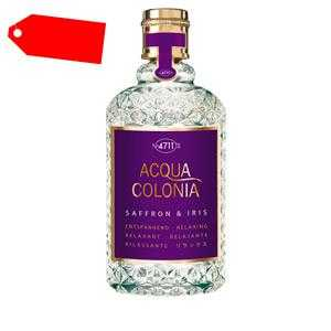 4711 - ACQUA COLONIA SAFFRON & IRIS eau de cologne spray 170 ml ab 22.03 (48.00) Euro im Angebot