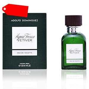 Adolfo Dominguez - AGUA FRESCA VETIVER eau de toilette spray 120 ml ab 26.83 (49.00) Euro im Angebot