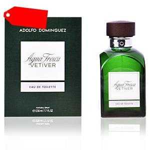 Adolfo Dominguez - AGUA FRESCA VETIVER eau de toilette spray 230 ml ab 30.37 (57.00) Euro im Angebot