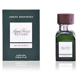 Adolfo Dominguez - AGUA FRESCA VETIVER eau de toilette spray 60 ml ab 18.46 (31.50) Euro im Angebot