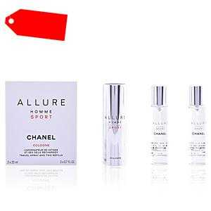 Chanel - ALLURE HOMME SPORT COLOGNE travel spray and two refills 3 x 20 ml ab 74.46 (80.00) Euro im Angebot