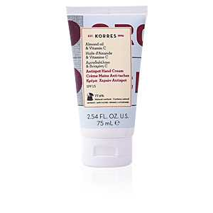 Korres - ALMOND OIL & VITAMIN C antispot hand cream 75 ml ab 9.35 (11.15) Euro im Angebot