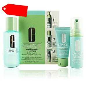 Clinique - ANTI-BLEMISH SOLUTIONS 3-step skin care system ab 25.76 (39.00) Euro im Angebot