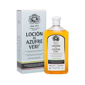 Azufre Veri - AZUFRE VERI locion anti-haarausfall 400 ml ab 19.61 (25.50) Euro im Angebot
