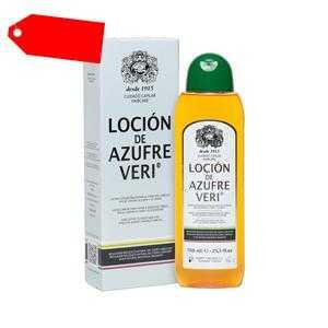 Azufre Veri - AZUFRE VERI locion anti-haarausfall 750 ml ab 29.52 (38.50) Euro im Angebot