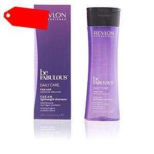 Revlon - BE FABULOUS daily care fine hair cream shampoo 250 ml ab 12.14 (20.50) Euro im Angebot