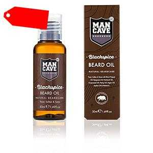 Mancave - BEARD CARE BLACKSPICE beard oil 50 ml ab 14.52 (20.00) Euro im Angebot