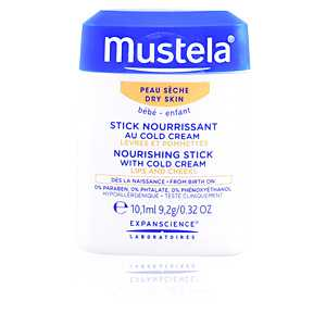 Mustela - BÉBÉ hydra stick lips and cheeks with cold cream ab 6.91 (7.75) Euro im Angebot